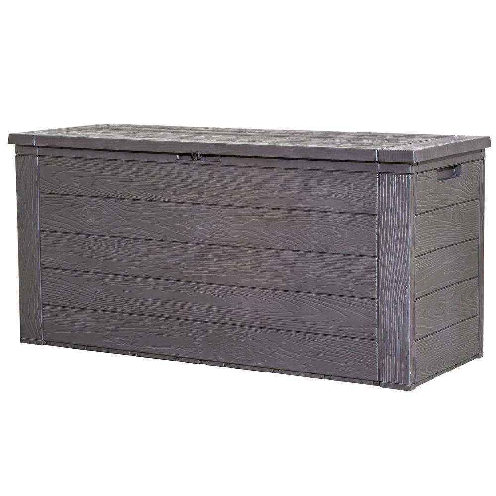 h g 2025 kissenbox woody aus kunststoff 45 x 120 x 60 cm f r den preis ok meiner meinung nach. Black Bedroom Furniture Sets. Home Design Ideas