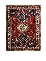 QURAMA Alfombra Persian Yalameh Rojo/Multicolor 131 x 77 cm