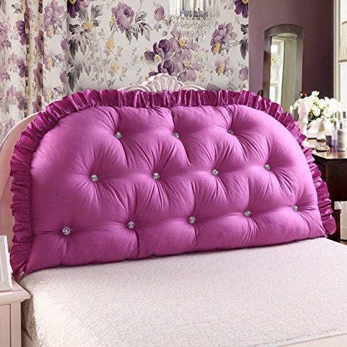 New day®-Cojín grande doble alta larga almohada de algodón con base de respaldo , 1 , 200 wide x80cm high