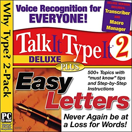 TalkIt TypeIt 2 Deluxe / Easy Letters