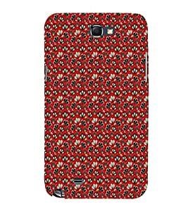 EPICCASE mixed flowers Mobile Back Case Cover For Samsung Galaxy Note (Designer Case)