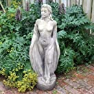 Large Garden Statue - English Maid Stone Sculpture
