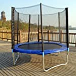 Trampoline With Safety Enclosure Net...