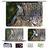 10 PCS Macbook Pro/Air 11 13 15 Inch Skin Decal Sticker - Animals Falcon Bird S Hawk Wood