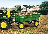 Peg Perego John Deere Farm Wagon, Green