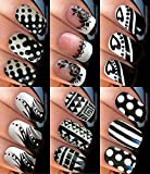 Sassy-Nailz Full Mickey Mouse Disney Childrens and Adults Nail Art Transfer Decal Wrap For False Acrylic Gel or Natural Nails