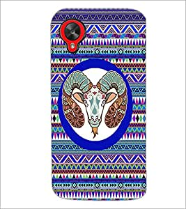 PrintDhaba Zodiac Aries D-3498 Back Case Cover for LG GOOGLE NEXUS 5 (Multi-Coloured)