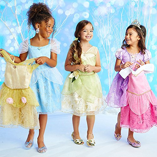 Disney Store Princess Costume Wardrove Set Aurora Cinderella Dresses Girls 7/8