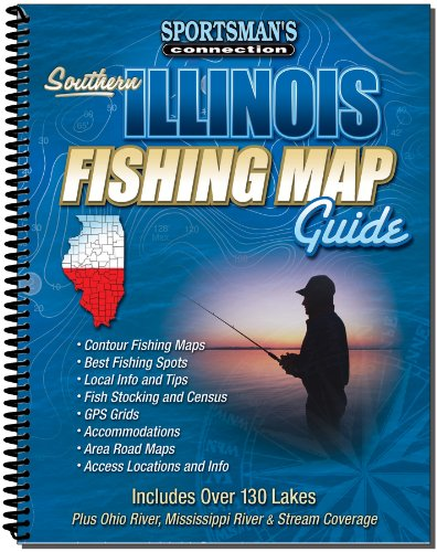 Southern Illinois Fishing Map Guide (Sportsman's Connection)