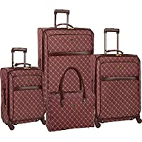 Travel Gear Orion Signature 4-Piece Expandable Spinner Luggage Set (28