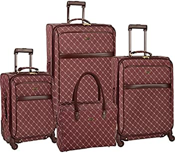 Travel Gear 4-Piece Expandable Spinner Luggage Set