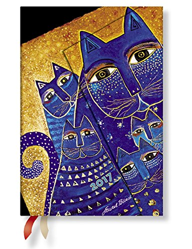 ペーパーブランクス  ダイアリー2017年版 地中海の猫たち A6 レフト式 DJ3375-2