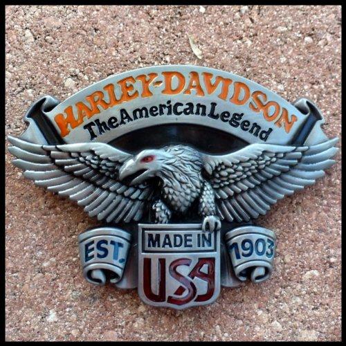 Legendary biker motorcycle belt buckle tattoo gothic NEW