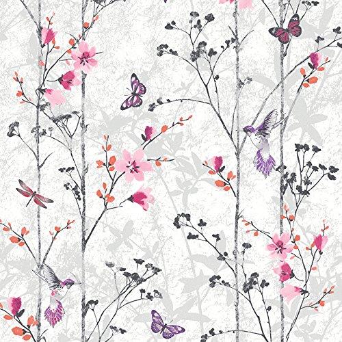 muriva-102550-novelties-eden-wallpaper-rolls-pink