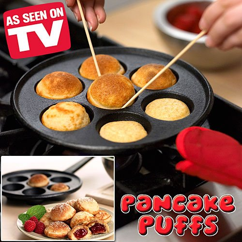 Pancake Puffs Cast Iron Set