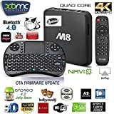 FruityBoom M8 Quad Core Amlogic S802 2G Ram 8G Flash Bluetooth 2.4Ghz/5Ghz Android Smart Mini PC TV Box XBMC wifi 5G 4K Ultra HD TV Out** FULLY LOADED**