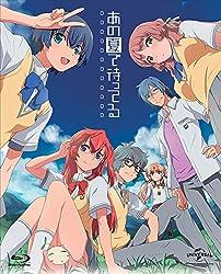 【Amazon.co.jp限定】あの夏で待ってる Blu-ray Complete Box (初回限定生産 新作OVA+イベント優先販売申込券付き)(デカ缶バッチ5個セット付き)