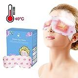 Simpleme Warm Steam Eye Mask - Single Use Heated Eye SPA Steam Eye Pillow Relieve Eye Tiredness Remove Eye Dark Circles (10 Pieces) (Tamaño: 10 pieces)