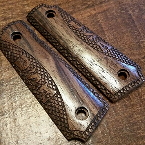 1911 22 Grips - Walnut USA, Will fit Browning 1911- 22 or 380 (1911 Bushing Compensator compare prices)