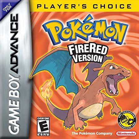 Pokémon Fire Red (GBA)