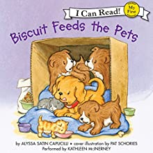 Biscuit Feeds the Pets Audiobook by Alyssa Satin Capucilli Narrated by Kathleen McInerney