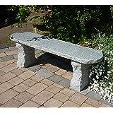 Große GartenbäNke-Elegance II Grau Stein Granit