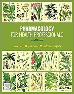 pharmacology for health professionals bryant knights pdf
