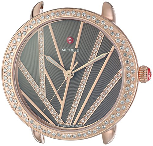 MICHELE-Womens-Serein-Swiss-Quartz-Stainless-Steel-Casual-Watch-ColorRose-Gold-Toned-Model-MW21B01B4099