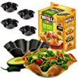 Perfect Tortilla Kitchen Pan Baking Tray Tin Mould Set Taco Salad Dips Bowl