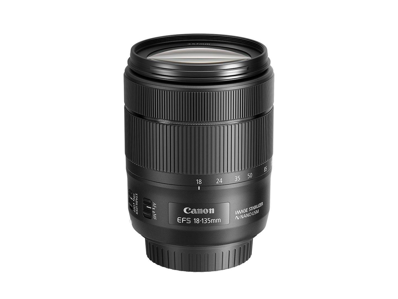 Canon EF-S 18-135mm f/3.5-5.6 Image Stabilization USM Lens (Black)