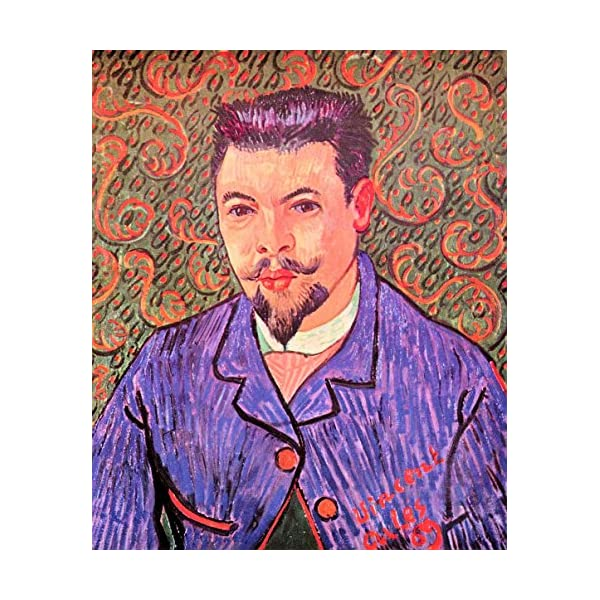 Dealtz Portrait of Dr. Rey by Van Gogh - Licensed Wall Art at Sears.com