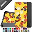 Fintie iPad mini 4 Case - Ultra Slim Lightweight Stand Smart Cover with Auto Sleep/Wake Feature for Apple iPad mini 4 (2015 Release), Mesmerizing Floral Yellow