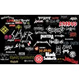 Posterhouzz Music Heavy Metal Collage Band Bands HD Wall Poster