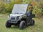 Polaris Ranger Midsize 400 500 570 800 EV Scratch Resistant Full Windshield