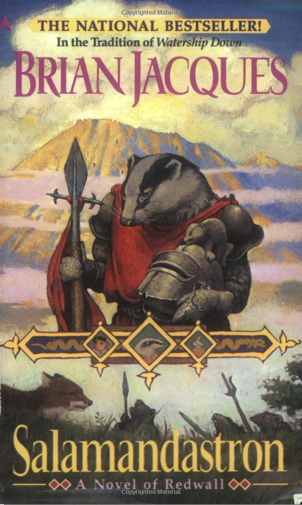 Salamandastron: A Novel of Redwall: Brian Jacques, Gary Chalk ...