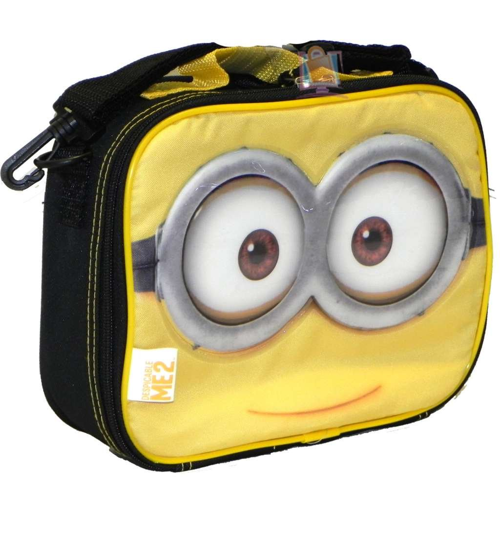 Despicable Me 2 Minion Lunch Bag Insulated Box
