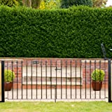 Made to measure Ascot double driveway or garden  gate, wrought iron galvanised up to 274 cm