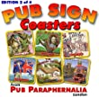 Pub Sign Coasters 2nd Edition - set of 6