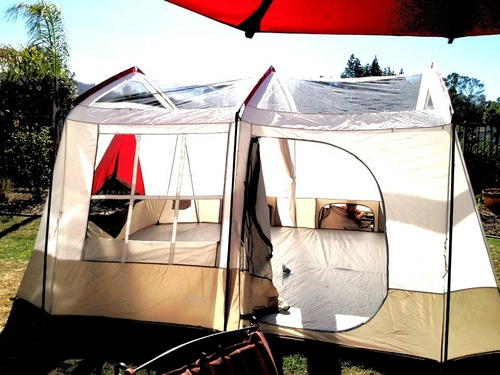 New Wenzel Kodiak Family Cabin Dome, 2 Room, 9 Person Family Tent for