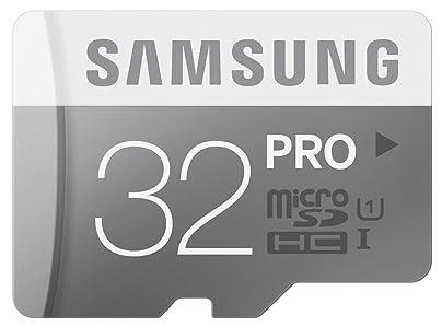 Samsung Pro MB-MG32D/EU - Tarjeta de memoria Micro SDHC de 32 GB (UHS -I Grade 1, Clase 10)