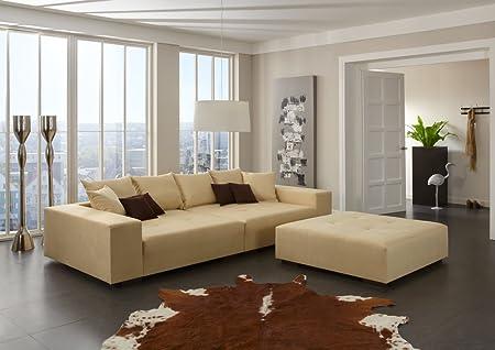 Big Sofa – Made in Germany – Bezug Noble Lux - Freie Farbwahl ohne Aufpreis aus ca. 70 Farben – Nahezu jedes Sondermaß möglich! Info unter 05223-7891588 oder info@highlight-polstermoebel.de