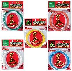 Cockatoo MG-1 Badminton Strings 10 Meter Coil; Pack of 5 ; 0.80 mm; Badminton Strings; Badminton guts