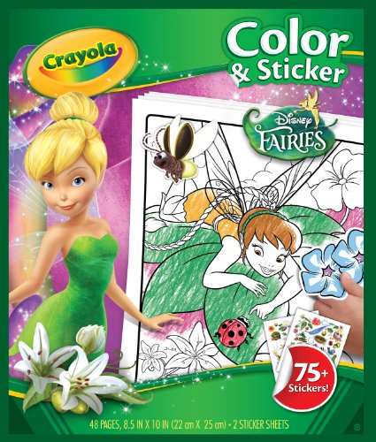 Crayola Fairies Color 'n Sticker Books