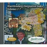 Wuerttemberg Emigration Index (CD-ROM)