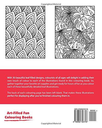 Whole Lotta Leaves Colouring Book (Volume 1) (Art-Filled Fun Colouring Books)