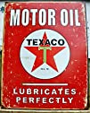 Tin Signs Texaco Tin Sign 1444
