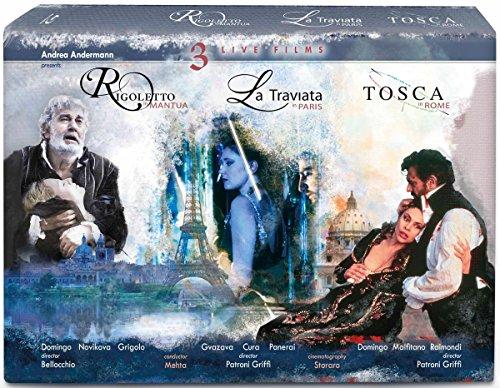 La Traviata, Rigoletto & Tosca [3 Blu-rays]