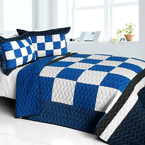 Plaid Quilted Bedding