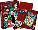 Aquarius DC JLA Retro Playing Cards