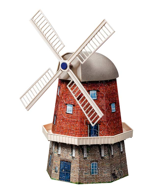 Amazon.com: Windmill 3D Puzzle, 216-Piece: Toys & Games